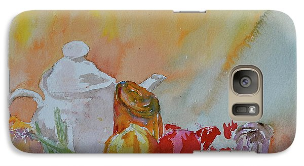 Galaxy Case featuring the painting Little Still Life by Beverley Harper Tinsley
