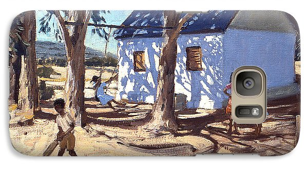 Little White House Karoo South Africa Galaxy Case by Andrew Macara