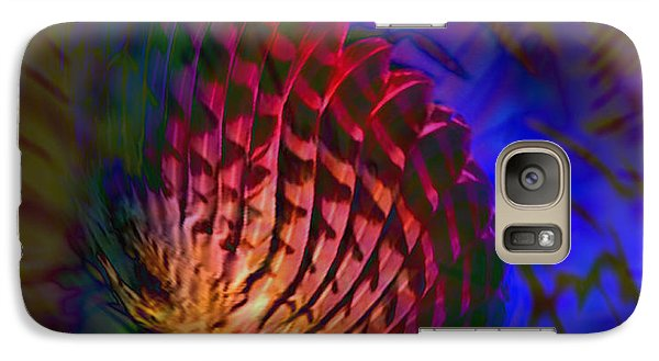 Galaxy Case featuring the digital art Little Wing by Kevin Caudill