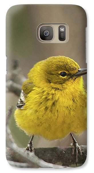 Galaxy Case featuring the photograph Little Yellow by Lara Ellis