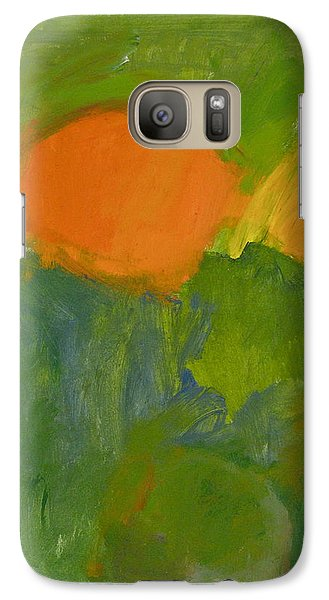 Galaxy Case featuring the painting Little Yellowtail  by Cliff Spohn