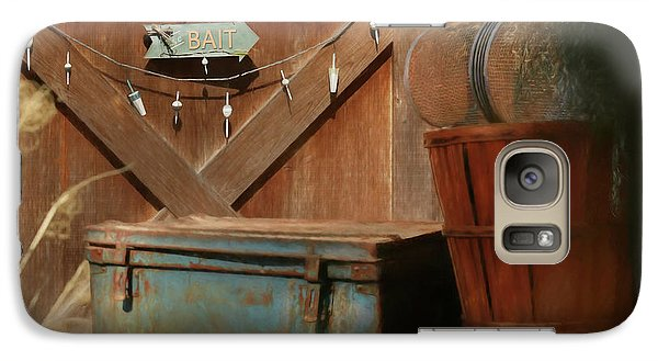 Galaxy Case featuring the photograph Live Bait by Lori Deiter