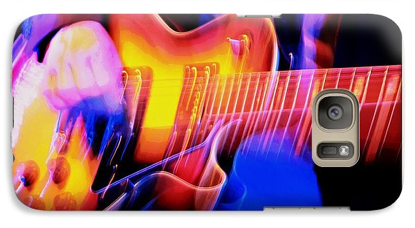 Galaxy Case featuring the photograph Live Music by Chris Berry
