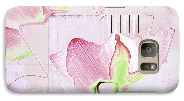 Galaxy Case featuring the digital art Live N Love - Absf17 by Variance Collections