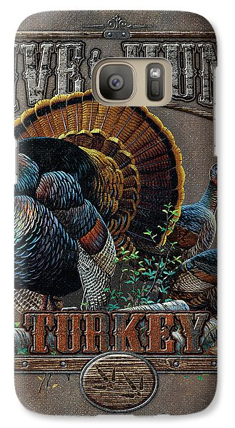 Turkey Galaxy S7 Case - Live To Hunt Turkey by JQ Licensing