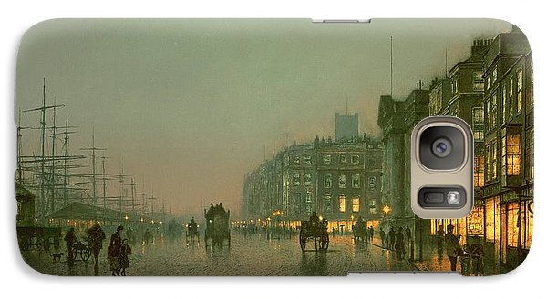 Liverpool Docks From Wapping Galaxy S7 Case