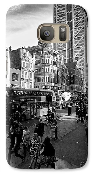 Galaxy Case featuring the photograph Liverpool Street  by Gary Bridger