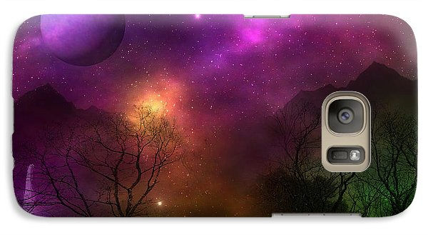 Galaxy Case featuring the photograph Living In Oz by Bernd Hau