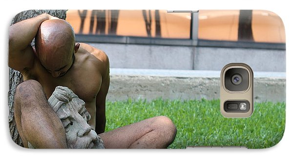 Galaxy Case featuring the photograph Living Sculpture by Robert D McBain