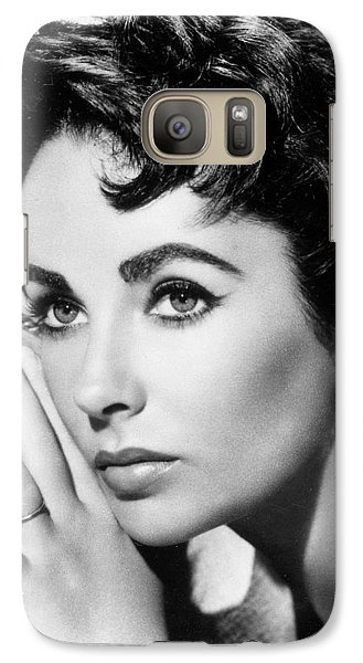 Liz Taylor Galaxy S7 Case