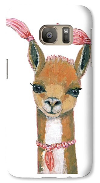 Llama Galaxy S7 Case - Llama by Blenda Studio