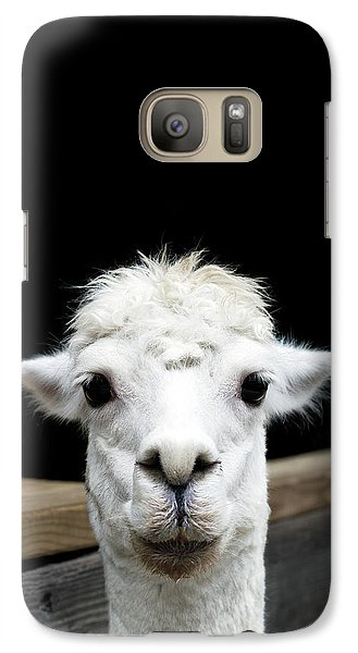 Llama Galaxy S7 Case by Lauren Mancke
