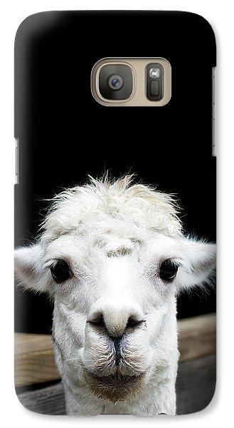 Llama Galaxy Case by Lauren Mancke