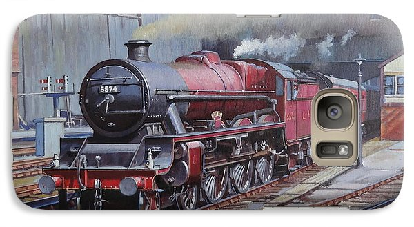 Galaxy Case featuring the painting Lms Jubilee At New Street. by Mike  Jeffries