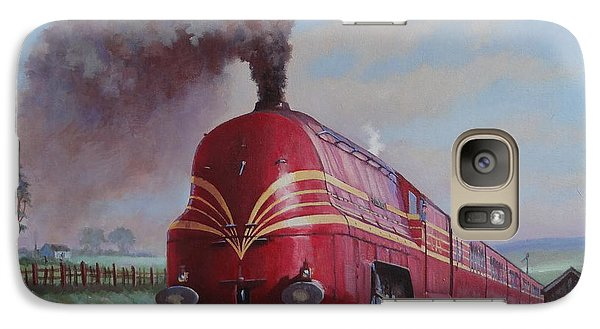 Galaxy Case featuring the painting Lms Stanier Pacific by Mike  Jeffries