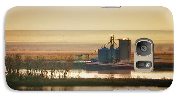 Galaxy Case featuring the photograph Loading Grain by Albert Seger