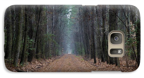 Galaxy Case featuring the photograph Loblolly Lane by Robert Geary