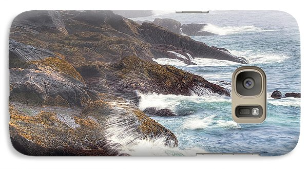 Galaxy Case featuring the photograph Lobster Cove by Tom Cameron