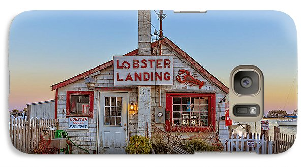 Lobster Landing Sunset Galaxy S7 Case by Edward Fielding