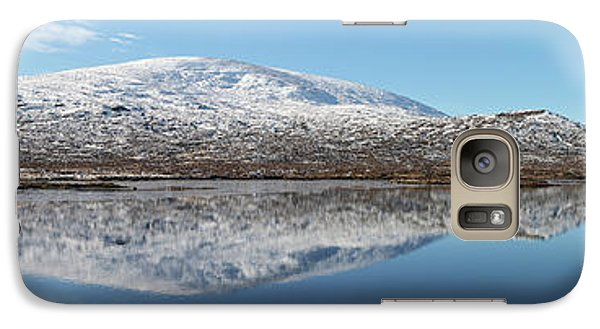 Galaxy Case featuring the photograph Loch Droma Panorama by Grant Glendinning
