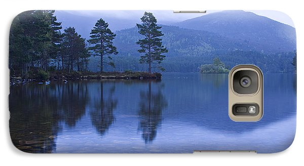 Galaxy Case featuring the photograph Loch Garten In The Cairngorms Scotland by Gabor Pozsgai