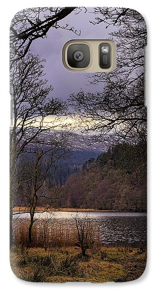 Galaxy Case featuring the photograph Loch Venachar by Jeremy Lavender Photography