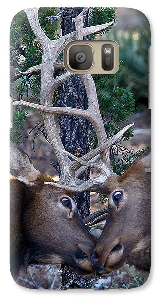 Locking Horns - Well Antlers Galaxy S7 Case