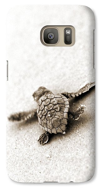 Loggerhead Galaxy S7 Case by Michael Stothard