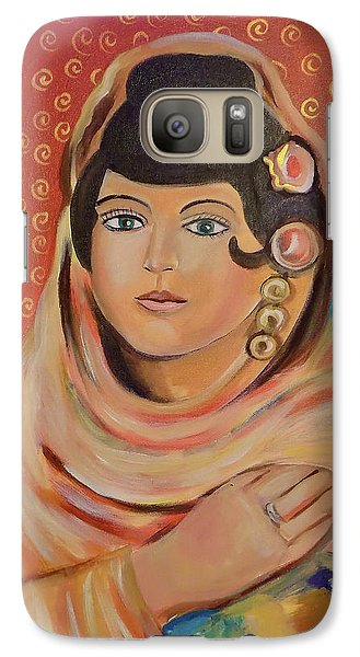 Galaxy Case featuring the painting Lola by John Keaton