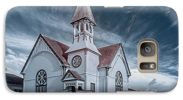 Galaxy Case featuring the photograph Loleta Church by Greg Nyquist