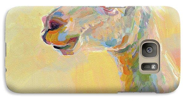 Llama Galaxy S7 Case - Lolly Llama by Kimberly Santini