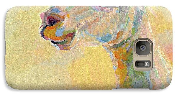 Lolly Llama Galaxy Case by Kimberly Santini