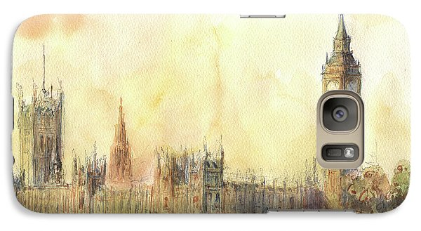 London Big Ben And Thames River Galaxy S7 Case