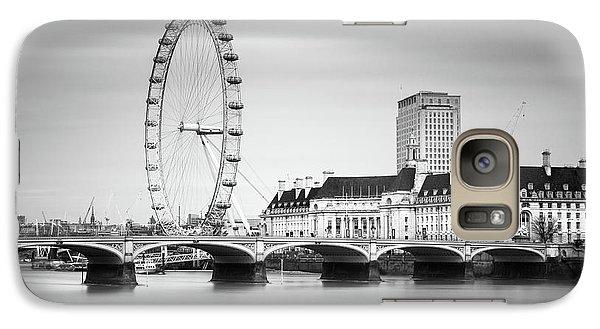 London Eye Galaxy Case by Ivo Kerssemakers