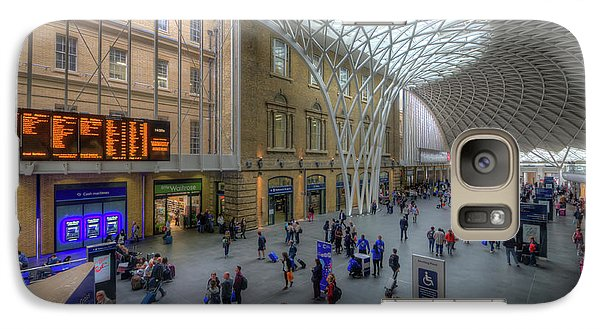 Galaxy Case featuring the photograph London King's Cross by Yhun Suarez