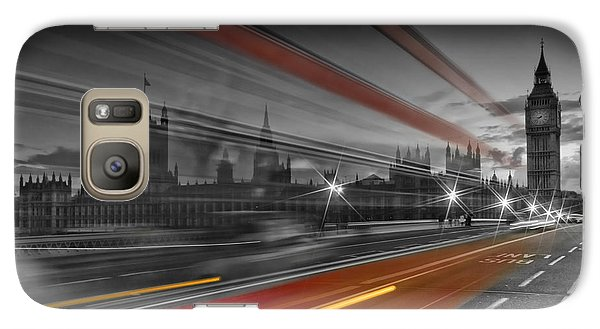 London Red Bus Galaxy S7 Case
