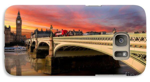 London Sunset Galaxy S7 Case