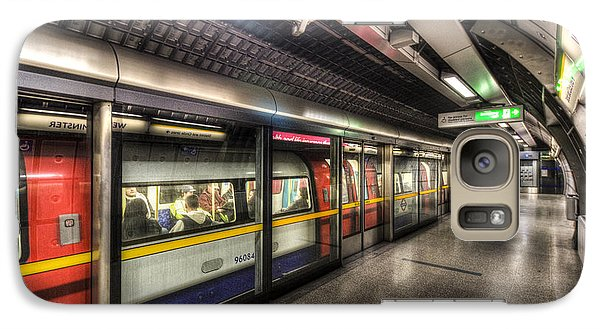 London Underground Galaxy S7 Case by David Pyatt