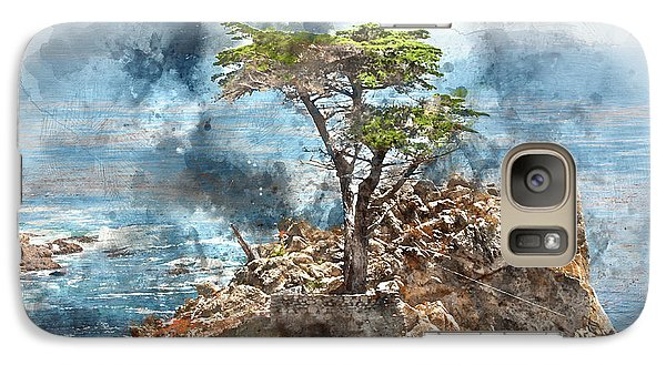 Lone Cypress In Monterey California Galaxy S7 Case