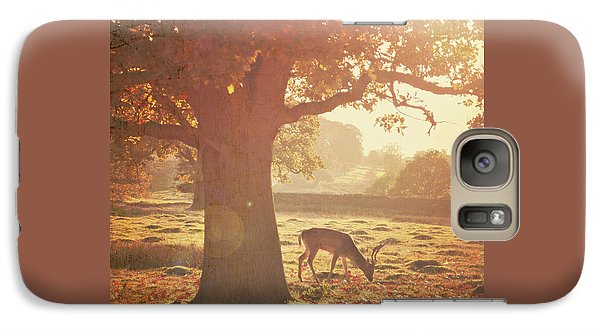 Galaxy Case featuring the photograph Lone Deer by Lyn Randle