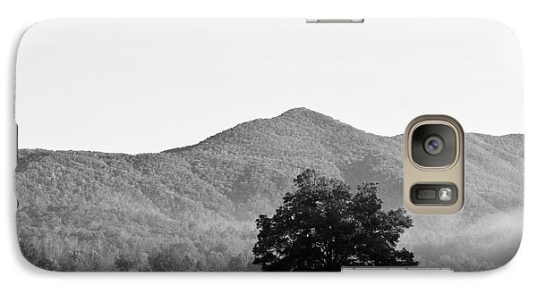 Galaxy Case featuring the photograph Lone Mountain Tree by Bob Decker