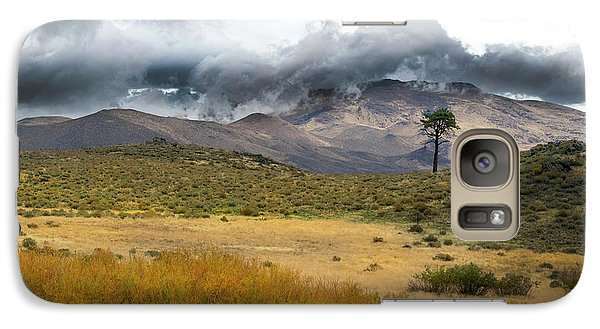 Galaxy Case featuring the photograph Lone Pine High Desert Nevada by Frank Wilson