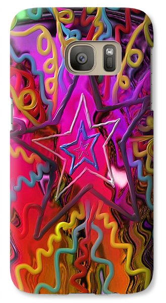 Galaxy Case featuring the painting Lone Star by Kevin Caudill