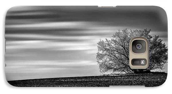 Galaxy Case featuring the photograph Lone Tree by Dan Jurak