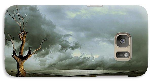 Galaxy Case featuring the digital art Lonely Death by Franziskus Pfleghart