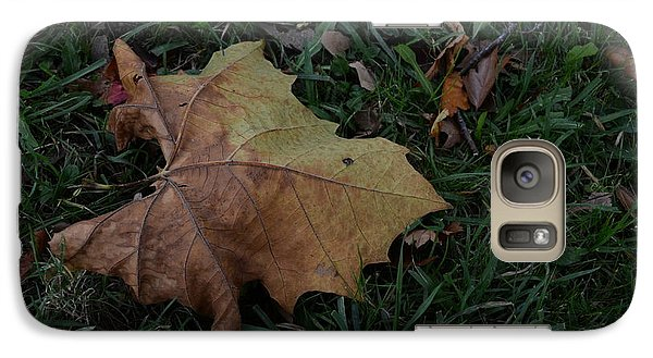 Lonely Leaf Galaxy S7 Case