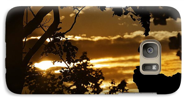 Galaxy Case featuring the photograph Lonely Prayer by Bernd Hau