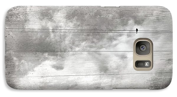 Galaxy Case featuring the painting Lonesome Dove by Gray  Artus