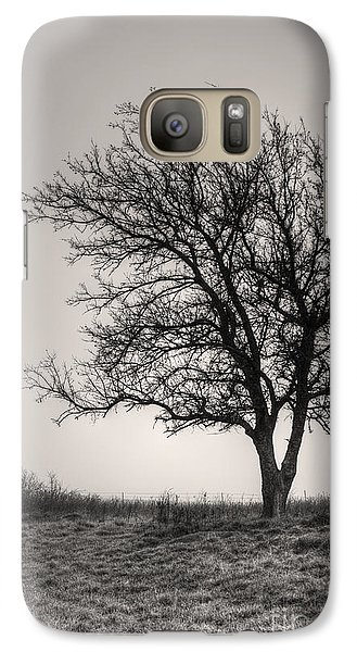 Galaxy Case featuring the photograph Lonesome Tree by Tamyra Ayles
