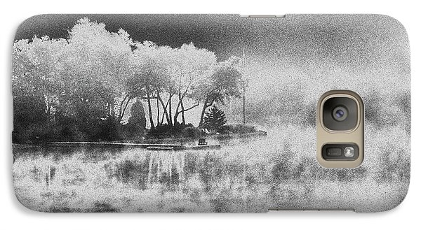 Galaxy Case featuring the photograph Long Ago Memory by Steven Huszar